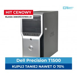 Dell Precision T1500 | i7-880 | 4 x 3.46 GHz | 8GB DDR3 | 500GB HDD | Geforce GTX 1050 Ti 4GB |Intel |  Klasa A