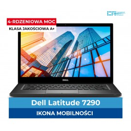 Dell 7290 Core i5-8350u | 8 GB DDR4 | 256 GB SSD M2 | Intel UHD 620 | Ekran 12.5″ HD | Klasa A+