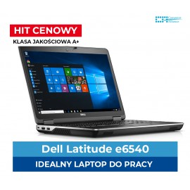 "Dell e6540 i5-4300M * 4 GB DDR3 * 128 GB SSD * Ekran 15"" Full HD * Klasa A"
