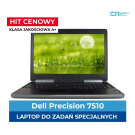 "Dell Precision 7510 Xeon E3-1535M V5 * 16 GB DDR4 * 256 GB SSD M.2 * AMD Fire Pro W5170m 2 GB  DDR5 * 15,4 "" * 4K IPS  IPS"