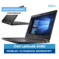 "Dell 5480 e5480 I5-7200u * 8 GB DDR4 * 256 GB SSD * Ekran 14"" Full HD IPS  * Klasa A+"