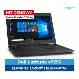 "Dell 7250 I5-5300U | 8 GB DDR3 | 120 GB SSD | Ekran 12"" HD 