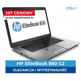 "HP EliteBook 850 G2 | i5-5300U | 8 GB DDR3 | 256 GB SSD | 15"" Full HD 