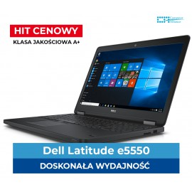 "Dell e5550 i5-5300U | 8 GB DDR3 | 128 GB SSD | Intel 5500HD | Ekran 15"" Full HD 