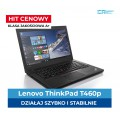 "Lenovo T460p i5-6440HQ | 8 GB DDR4 | 256 GB SSD | Ekran 14"" Full HD IPS 