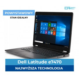 "Dell e7470 i7-6600U | 8 GB DDR4 | 256 GB SSD | Ekran 14"" Full HD IPS 