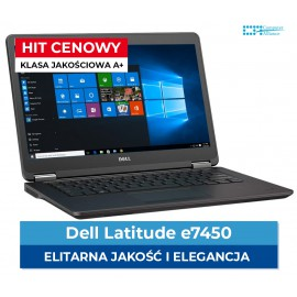 "Dell e7450 i7-5600U | 8 GB DDR3 | 256GB SSD | Ekran 14"" Full HD 