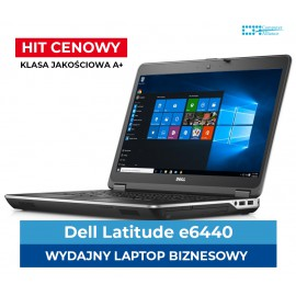 "Dell e6440 i5-4300M | 8 GB DDR3 | 128 GB SSD | Ekran 14"" HD+ 