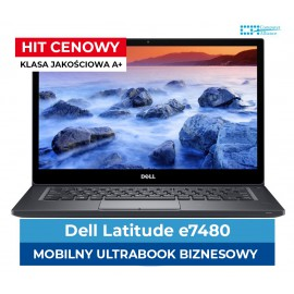 "Dell 7480 | I5-7300u | 8 GB DDR4 | 256 GB SSD |14.1 "" Full HD IPS dotyk 